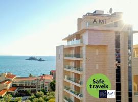 Hotel AMI Budva Petrovac, отель в Петроваце
