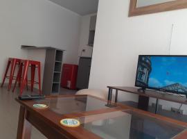 Aires porteños con excelente conectividad, apartamento en Valparaíso