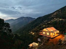 Moksham Himalayan Campsite Pangot, luxury tent in Nainital
