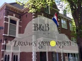 B&B Zeeuws genoegen, hotel near Het Arsenaal, Vlissingen