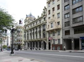 Santacruz, hotel en Oviedo