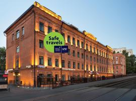 AZIMUT Отель Тульская Москва, отель в Москве