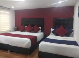 Room in Lodge - Hotel American Visa Bogota, habitación en casa particular en Bogotá
