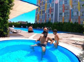 Lego residence (sauna, pools, gym, city center), hotel perto de Aeroporto de Antalya - AYT,