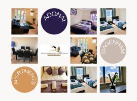 2 Bedroom Apartment at Dagenham , Adonai Serviced Accommodation, Free WiFi and Parking, apartment in Dagenham