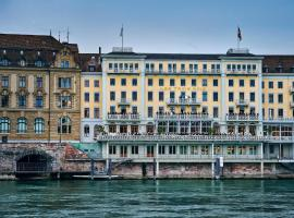 Grand Hotel LES TROIS ROIS, hotel in Basel