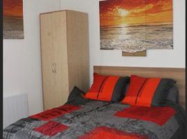 Agréable Studio, belle terrasse, Parking privé, 2 étoiles, apartment in Balaruc-les-Bains