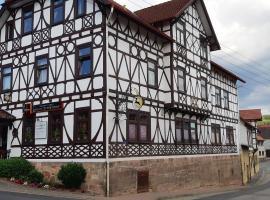 Pension Hirsch/Schwan, Hotel in der Nähe von: Schloss Elisabethenburg, Schmalkalden