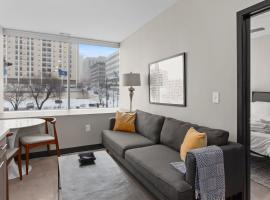 Flashcube - Lux DT Apts with Free Parking by Zencity, vacation rental in Kansas City