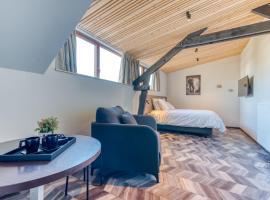 Les chambres du Domaine du Vieux Château, hôtel à Abbaye Notre-Dame d'Orval