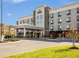 Comfort Inn & Suites Niagara Falls Blvd USA、ナイアガラフォールズのホテル