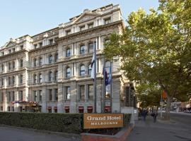 Grand Hotel Melbourne, hotel perto de Melbourne Convention and Exhibition Centre, Melbourne