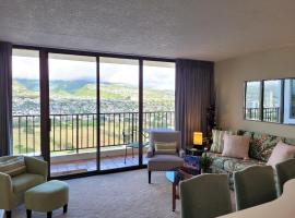 35th Floor at the Waikiki Banyan Amazing Mountain Views FREE PARKING and WiFi, apartment in Honolulu