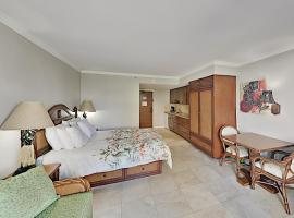 Luana - Studio with AC, Private Lanai - Pool, Gym Hotel Room, hotel in Honolulu