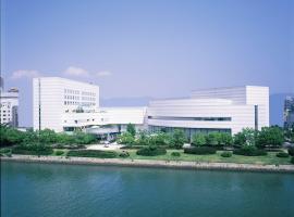 Hiroshima City Bunka Koryu Kaikan, отель в Хиросиме