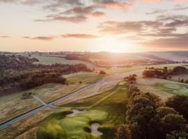 Bjäre Golfklubb Hotel & Lodge, hotell i Båstad