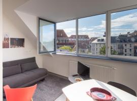 Le Fort Rouge, apartment in Tournai