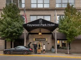Haywood Park Hotel, hotel in Asheville