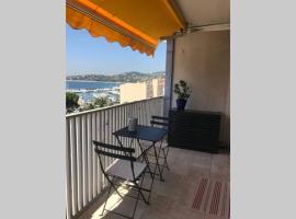 Appartement Palais de la mer T2 vue mer, apartment in Sainte-Maxime