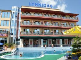 Hotel Lyhnidas, отель в городе Поградец