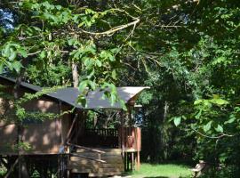 Les lodges du Moulin, luxury tent in Saint-Laurent