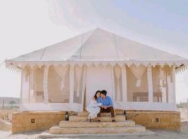 Desert Heritage Safari Camp, luxury tent in Jaisalmer
