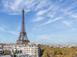 Tour eiffel vue fantastique, self catering accommodation in Paris
