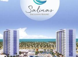 SALINAS EXCLUSIVE RESORT - FRENTE MAR, hotel in Salinópolis