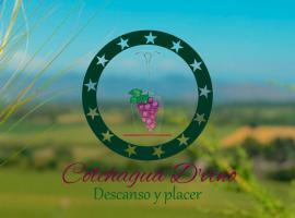 Hotel Boutique Colchagua D'vino, hotel en Santa Cruz