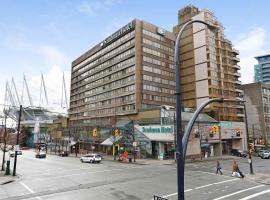 Sandman Hotel Vancouver City Centre, hotel near Olympic Village Skytrain Station, Vancouver