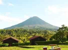 ARENAL ROCA LODGE, hotel cerca de Reserva Bosque Nuboso Santa Elena, Fortuna