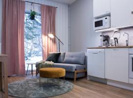 Unique Studio Apartment Of a Wooden House, loma-asunto kohteessa Jyväskylä