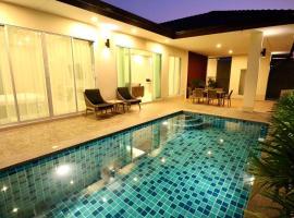 Family Pool Villa 3BR 6-8 persons, hotel in Ban Huai Yai