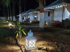 Blue Coast beach resort, luxury tent in Alibaug