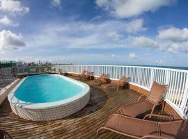Suíte ao mar de Manaíra no Intercity por Carpediem, hotel in João Pessoa