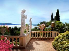 Hotel Ville Montefiori, hotell i Gardone Riviera