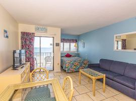 Direct Ocean Front Studio with Endless Views Palace Resort 302, apartment in Myrtle Beach