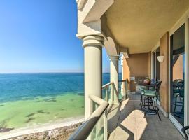 Pensacola Beach Resort Condo with Beach Access!, apartment in Pensacola Beach