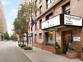 Night Hotel Broadway, hotel in Upper West Side, New York