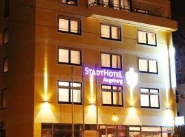 Stadthotel Augsburg, отель в Аугсбурге