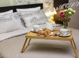 Friends Vacations 3BR & 3BTHR Apartment, отель в Санкт-Петербурге, рядом находится Музей Анны Ахматовой