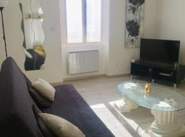 Proche de Walibi,Appartement 5 personnes tout confort au calme, hôtel à Corbelin