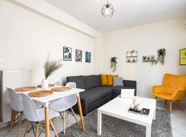 Yellow Fresh Apartment 2, hotel with parking in Alexandroupoli