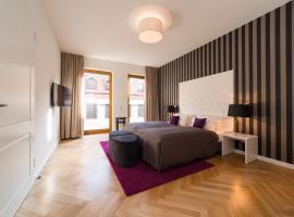 Modernes Apartment am Neumarkt, pet-friendly hotel in Dresden