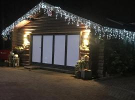 Log cabin, hotel near University of Warwick, Coventry