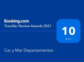 Car y Mar Departamentos, apartment in Santiago