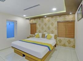 Treebo Trip Majestic Inn Thampanoor, hotel in Trivandrum