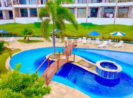 Apartamento na praia da Pipa RN com jacuzzi particular e café da manhã, apartment in Pipa