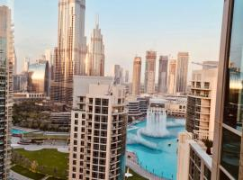 BellaVista 2 Bedroom Apartment Burj Khalifa Fountain Views, apartment in Dubai