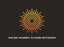 la CASITA DEL CORAZON, hotel que admite mascotas en Castillo del Romeral